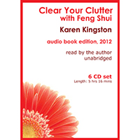 Clear Your Clutter with Feng Shui audio book - CD edition