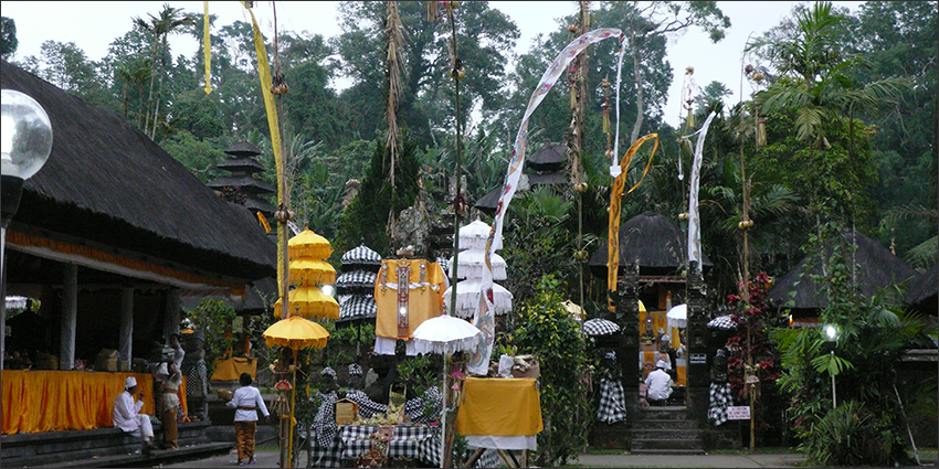 Balinese temple decorations