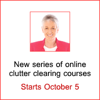 Clutter clearing courses led by Karen Kingston