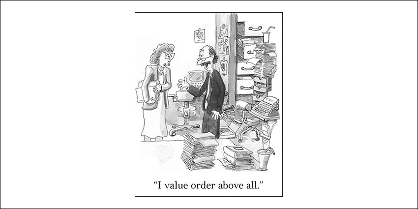 Clutter humour