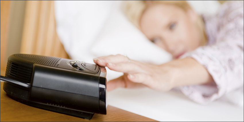 Why the best place for a clock radio is in your bin, not on your bedside table