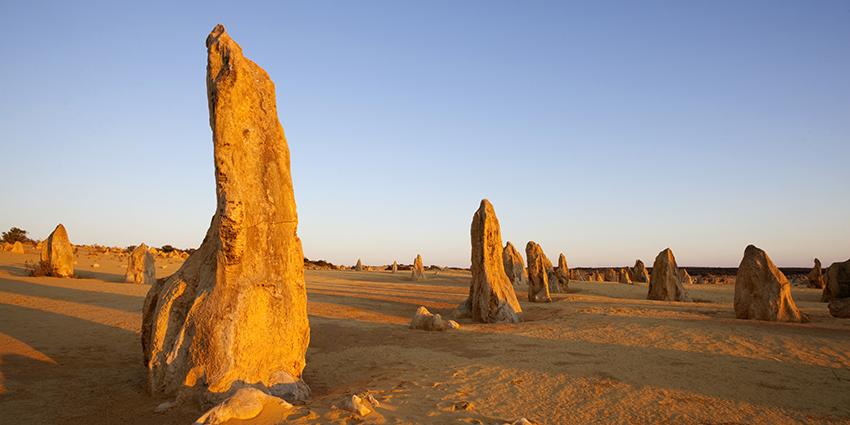 The Pinnacles in Western Australia.