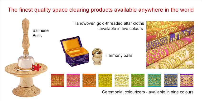 Space clearing products