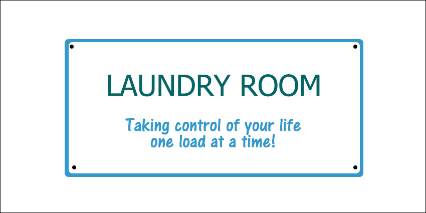 Take control of your laundry