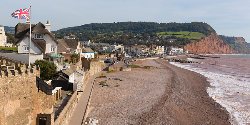 English seaside town