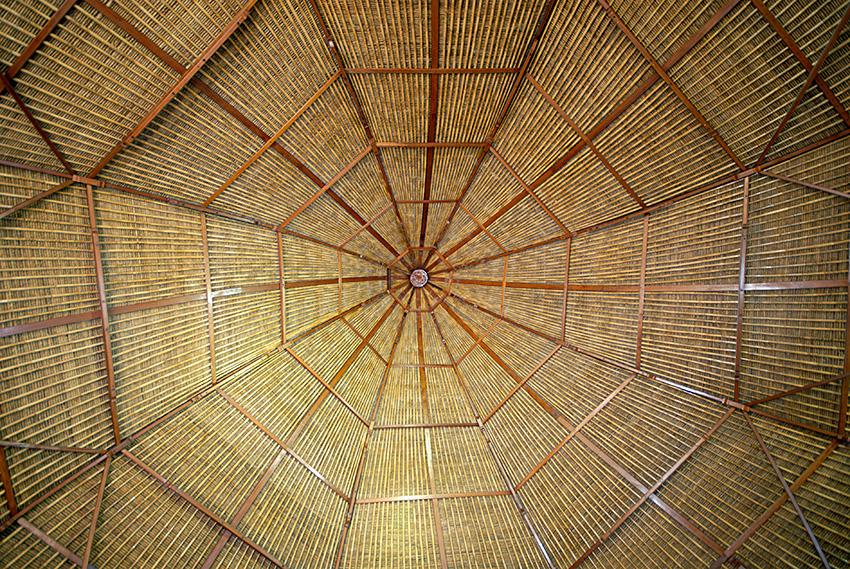 Bali Mandala roof