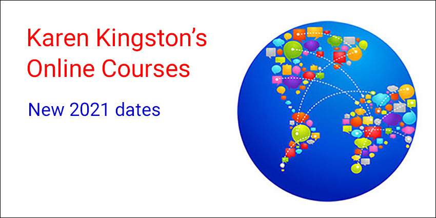 Online courses led by Karen Kingston