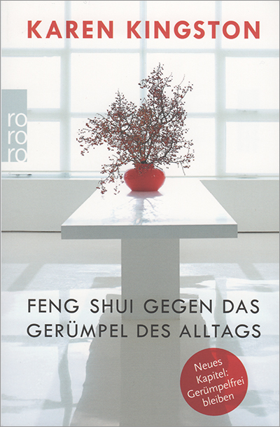 Clear Your Clutter with Feng Shui by Karen Kingston - German paperback edition