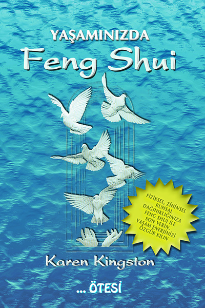 Clear Your Clutter with Feng Shui by Karen Kingston - Turkish paperback edition
