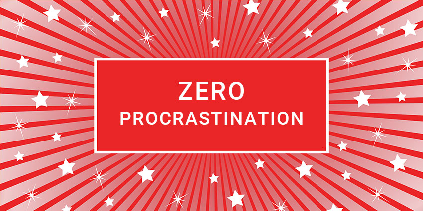Zero Procrastination online course with Karen Kingston